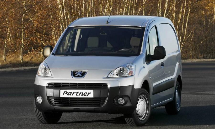 Peugeot Partner VU фургон 4-дв., 2008–2012, 2 поколение, 1.6 MT L1 (90 л.с.), Базовая, характеристики