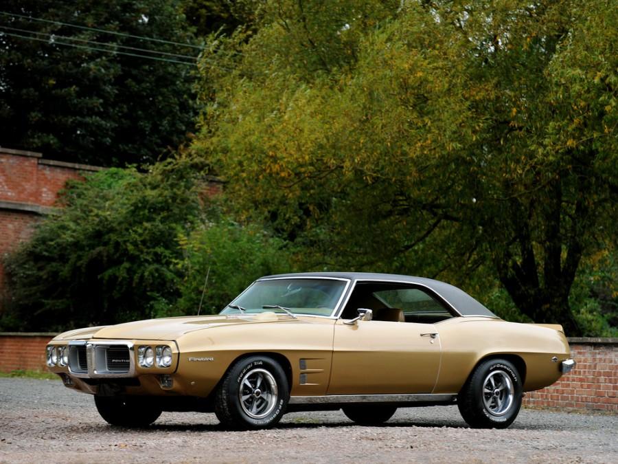 Pontiac Firebird купе 2-дв., 1969, 1 поколение [2-й рестайлинг] - отзывы, фото и характеристики на Car.ru