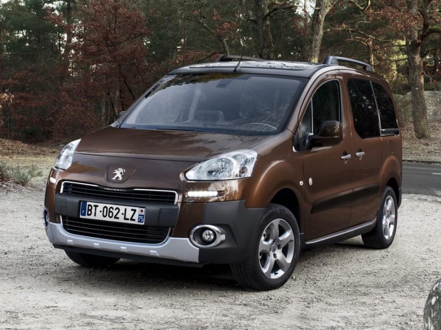 Peugeot Partner Tepee минивэн, 2012–2016, 2 поколение [рестайлинг] - отзывы, фото и характеристики на Car.ru