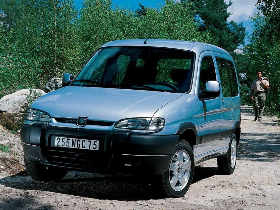 Peugeot Partner минивэн, 1996–2002, 1 поколение, 1.4 MT (75 л.с.), характеристики