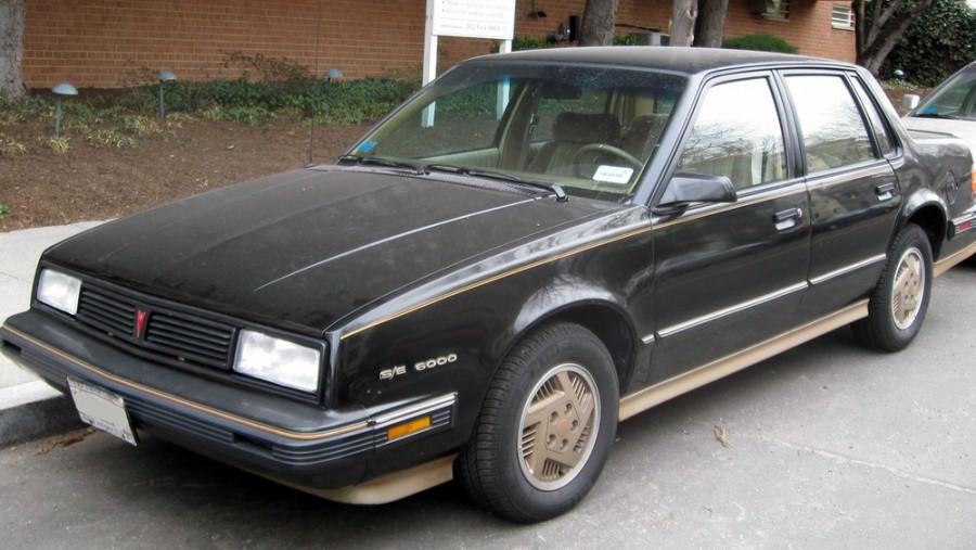 Pontiac 6000 седан, 1987–1988, 1 поколение [2-й рестайлинг] - отзывы, фото и характеристики на Car.ru