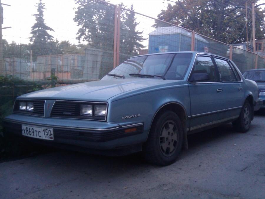 Pontiac 6000 седан, 1985–1986, 1 поколение [рестайлинг], 2.5 AT (106 л.с.), характеристики