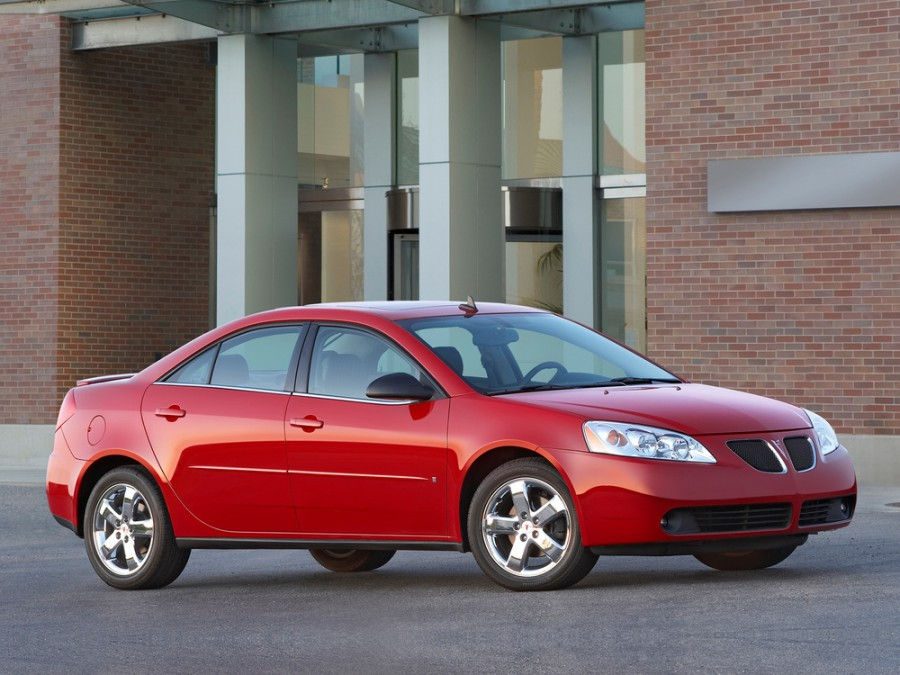 Pontiac G6 седан, 2005–2014, 1 поколение - отзывы, фото и характеристики на Car.ru