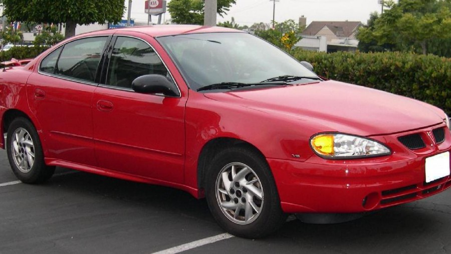 Pontiac Grand AM седан, 1999–2005, 5 поколение - отзывы, фото и характеристики на Car.ru