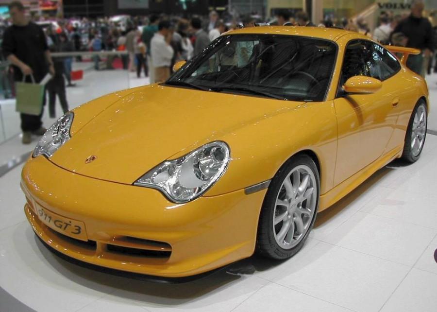 Porsche 911 GT3 купе 2-дв., 2000–2005, 996 [рестайлинг] - отзывы, фото и характеристики на Car.ru