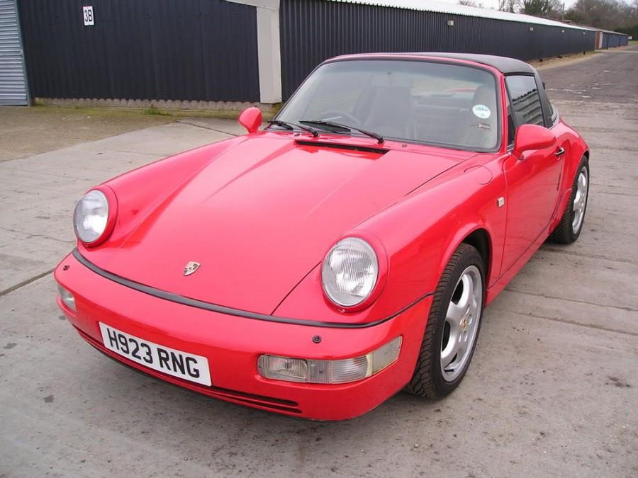 Porsche 911 Targa тарга, 1989–1994, 964 - отзывы, фото и характеристики на Car.ru