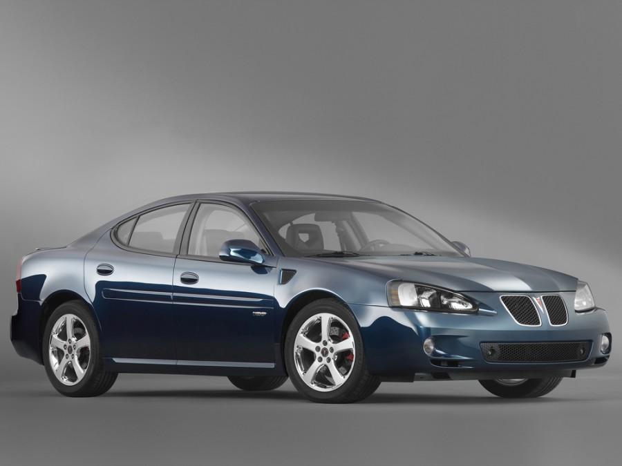 Pontiac Grand Prix GXP седан 4-дв., 2004–2008, 7 поколение - отзывы, фото и характеристики на Car.ru