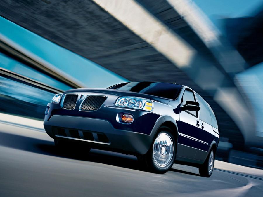 Pontiac Montana минивэн, 2005–2014, 2 поколение - отзывы, фото и характеристики на Car.ru