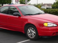 Pontiac Grand AM, 5 поколение, Седан, 1999–2005