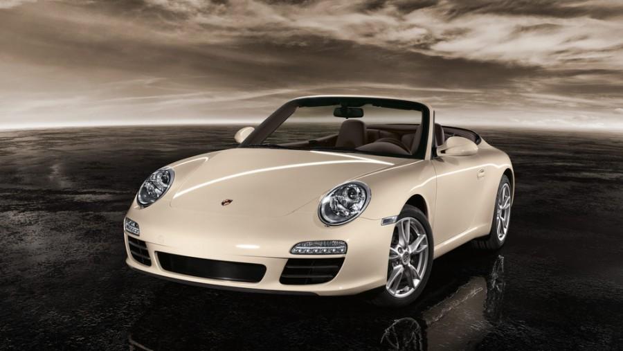 Porsche 911 Carrera кабриолет 2-дв., 2008–2013, 997 [рестайлинг] - отзывы, фото и характеристики на Car.ru