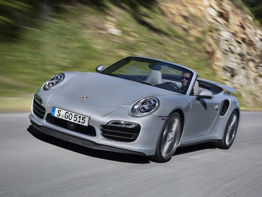 Porsche 911 Turbo кабриолет 2-дв., 2011–2016, 991 - отзывы, фото и характеристики на Car.ru