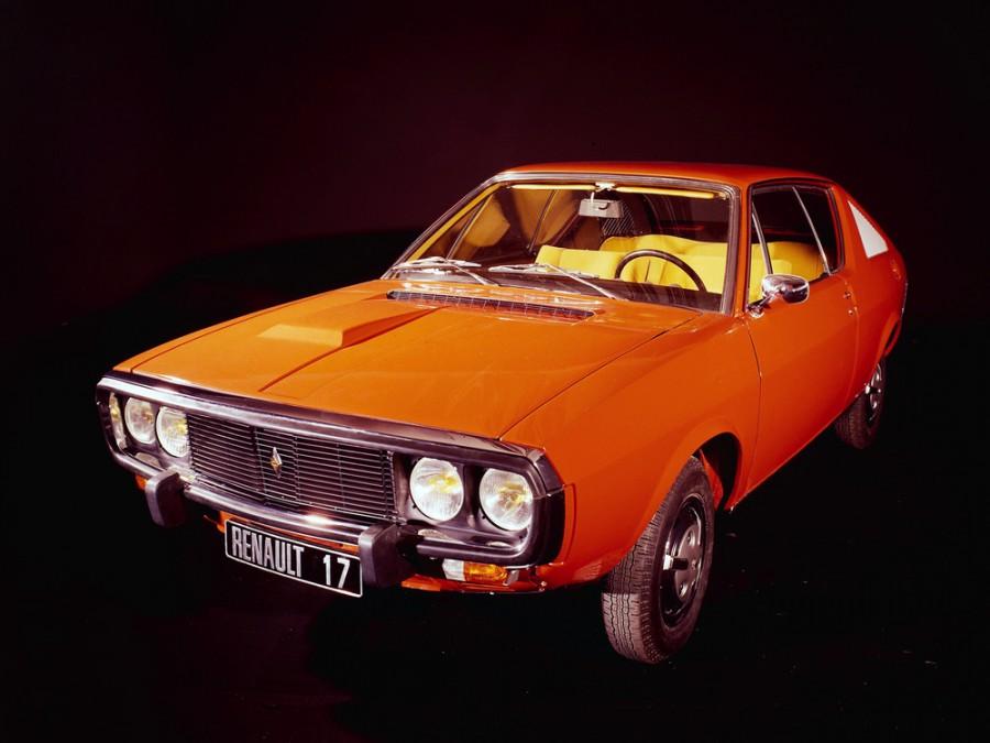 Renault 17 купе, 1971–1976, 1 поколение - отзывы, фото и характеристики на Car.ru