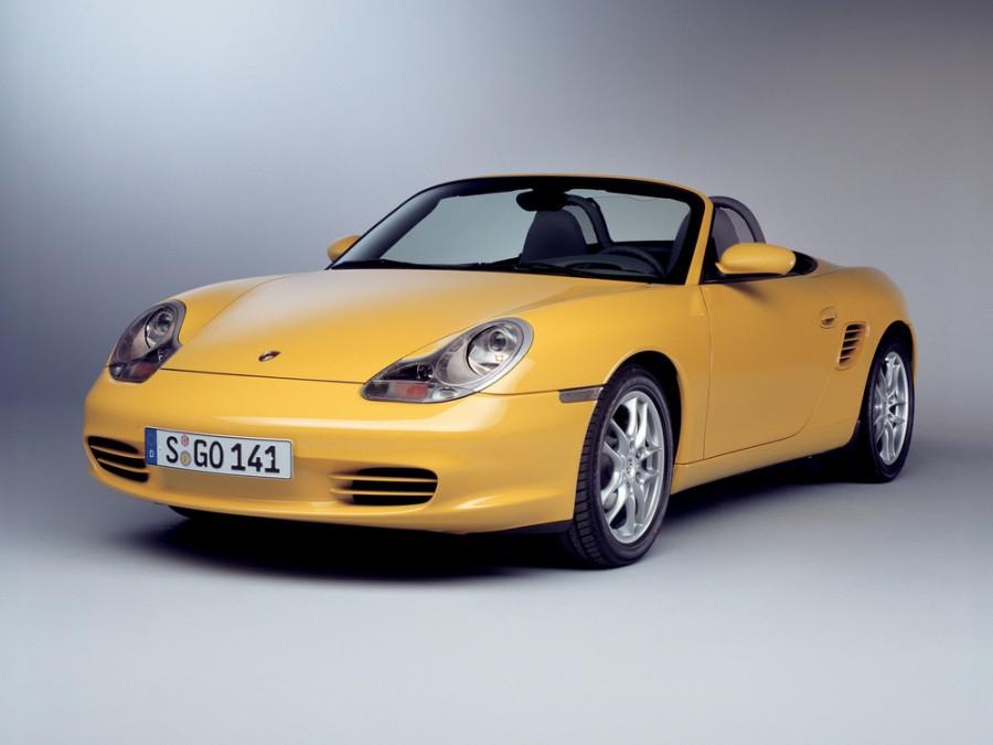 Porsche Boxster родстер 2-дв., 2002–2004, 986 [рестайлинг] - отзывы, фото и характеристики на Car.ru