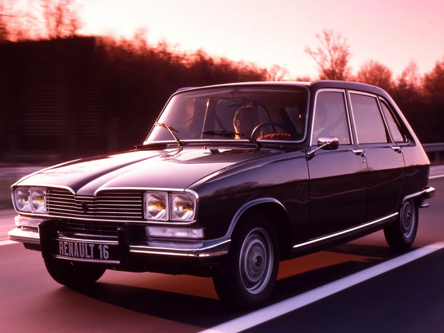 Renault 16 хетчбэк, 1974–1980, 1 поколение [2-й рестайлинг] - отзывы, фото и характеристики на Car.ru