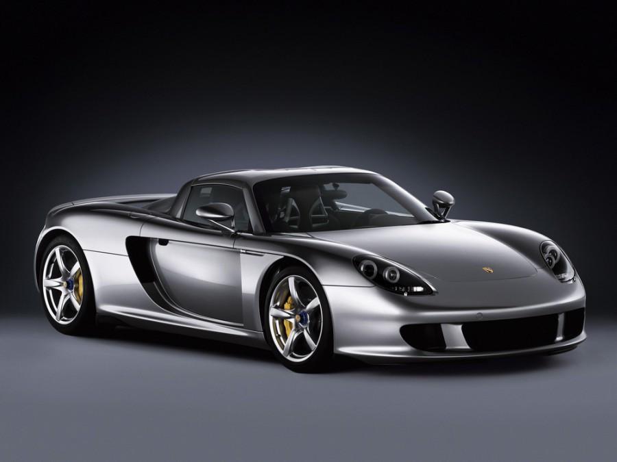 Porsche Carrera GT тарга, 2004–2006, 1 поколение - отзывы, фото и характеристики на Car.ru