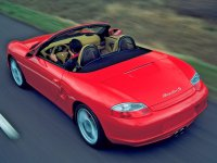 Porsche Boxster, 986 [рестайлинг], Spyder родстер 2-дв., 2002–2004