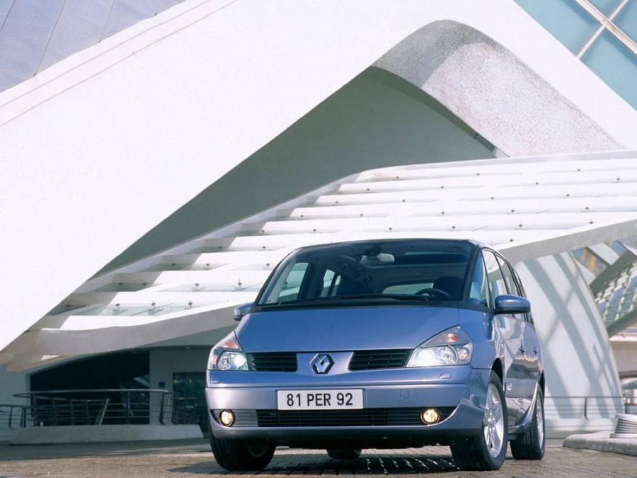 Renault Espace минивэн, 2002–2006, 4 поколение - отзывы, фото и характеристики на Car.ru