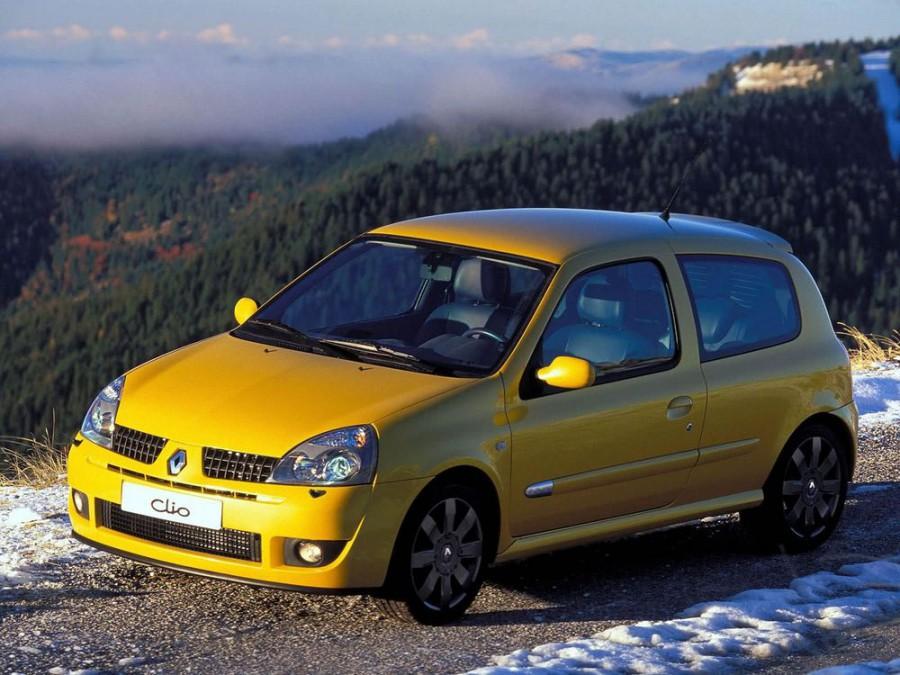 Renault Clio RS хетчбэк 3-дв., 2001–2005, 2 поколение [рестайлинг] - отзывы, фото и характеристики на Car.ru