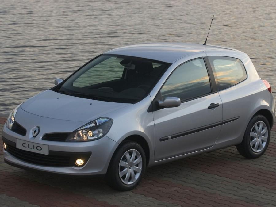 Renault Clio хетчбэк 3-дв., 2005–2009, 3 поколение - отзывы, фото и характеристики на Car.ru