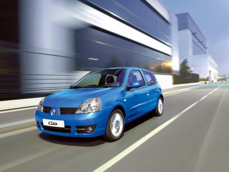 Renault Clio хетчбэк 3-дв., 2006–2009, Campus [2-й рестайлинг] - отзывы, фото и характеристики на Car.ru