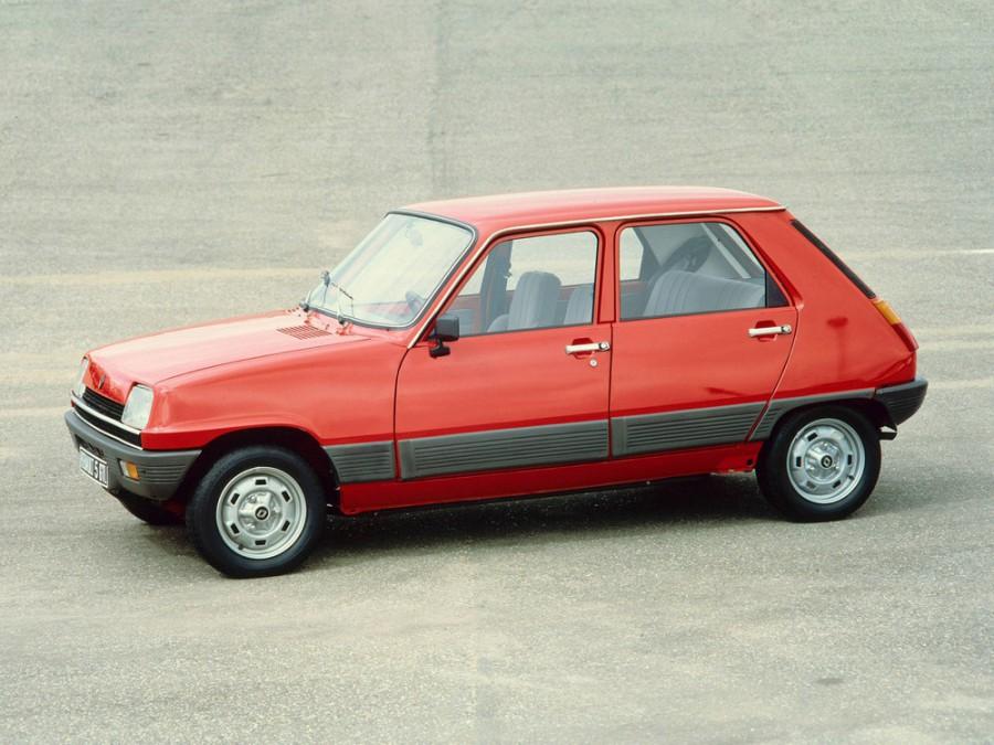 Renault 5 хетчбэк 5-дв., 1972–1985, 1 поколение - отзывы, фото и характеристики на Car.ru