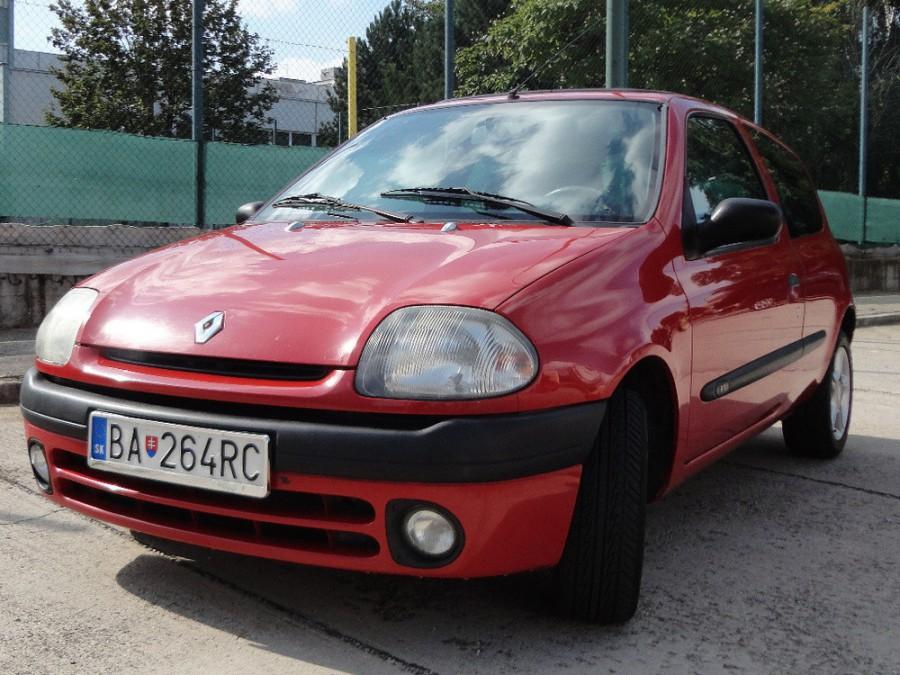 Renault Clio хетчбэк 3-дв., 1998–2005, 2 поколение - отзывы, фото и характеристики на Car.ru