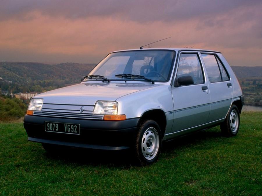 Renault 5 хетчбэк 5-дв., 1987–1996, Supercinq [рестайлинг] - отзывы, фото и характеристики на Car.ru