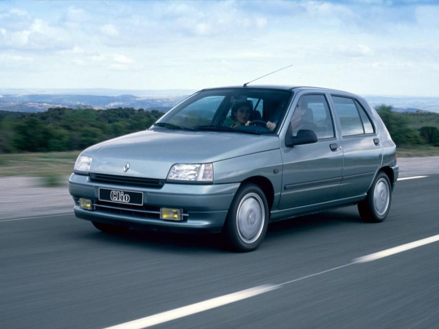 Renault Clio хетчбэк 5-дв., 1990–1997, 1 поколение - отзывы, фото и характеристики на Car.ru