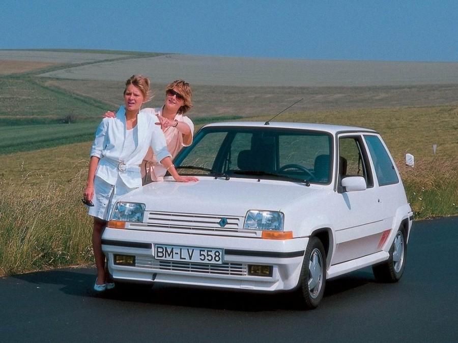 Renault 5 GT Turbo хетчбэк 3-дв., 1987–1996, Supercinq [рестайлинг] - отзывы, фото и характеристики на Car.ru