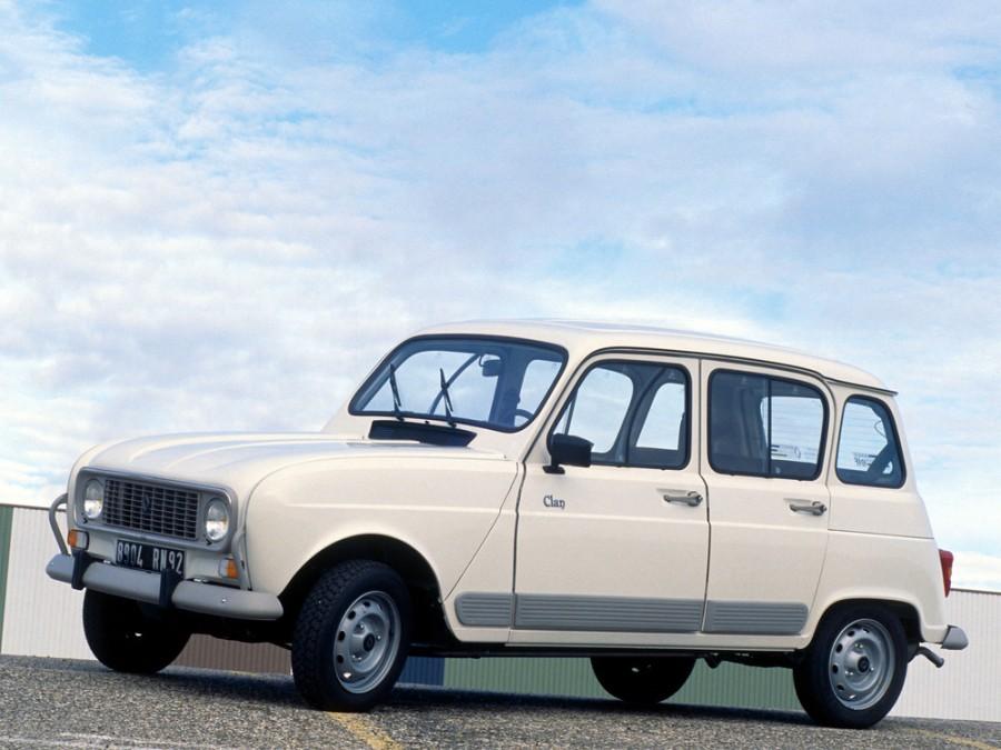 Renault 4 хетчбэк, 1 поколение [2-й рестайлинг] - отзывы, фото и характеристики на Car.ru