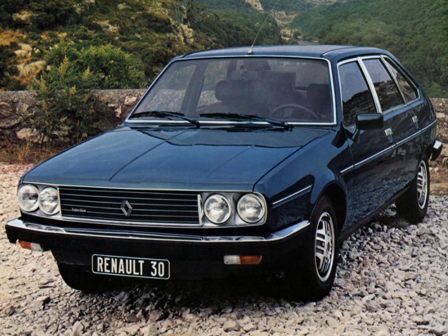Renault 30 хетчбэк, 1975–1984, 1 поколение - отзывы, фото и характеристики на Car.ru