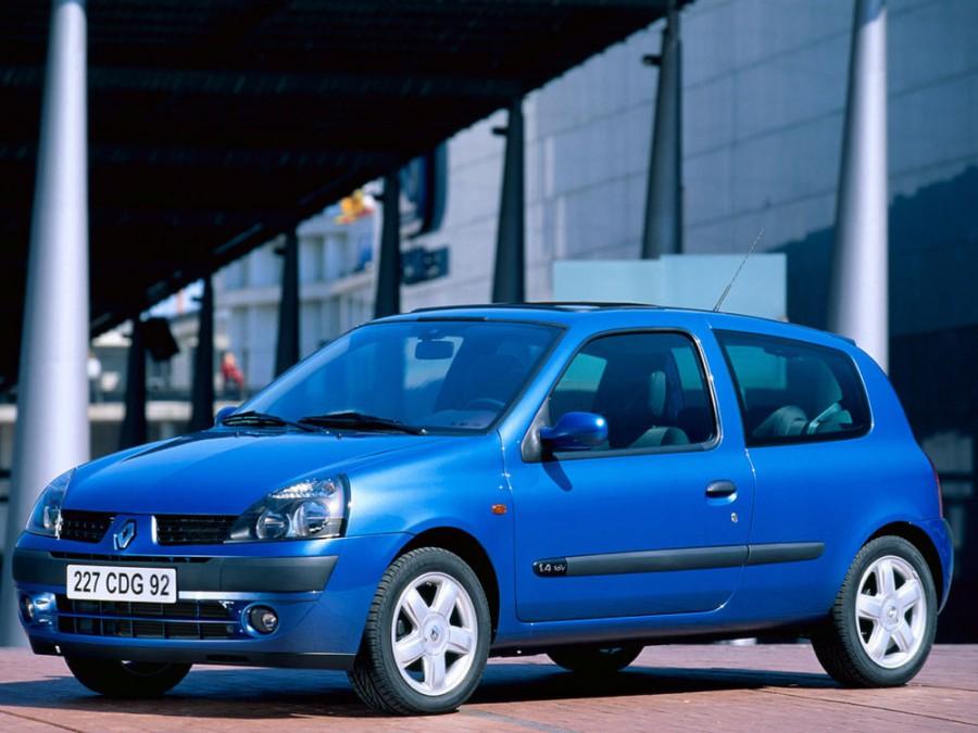 Renault Clio хетчбэк 3-дв., 2001–2005, 2 поколение [рестайлинг] - отзывы, фото и характеристики на Car.ru