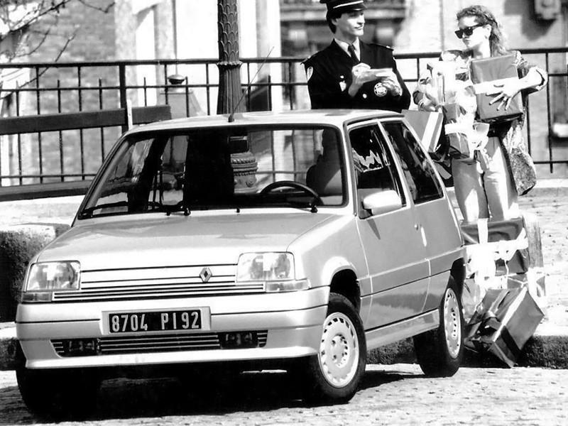 Renault 5 хетчбэк 3-дв., 1987–1996, Supercinq [рестайлинг] - отзывы, фото и характеристики на Car.ru