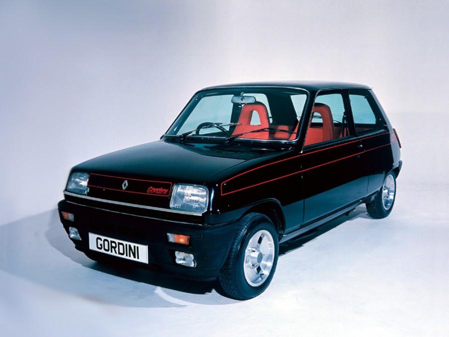 Renault 5 Gordini хетчбэк 3-дв., 1972–1985, 1 поколение - отзывы, фото и характеристики на Car.ru