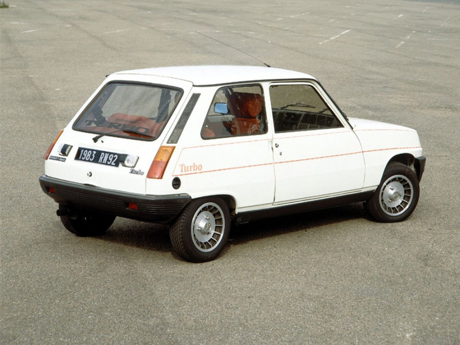 Renault 5 Alpine Turbo хетчбэк 3-дв., 1972–1985, 1 поколение - отзывы, фото и характеристики на Car.ru