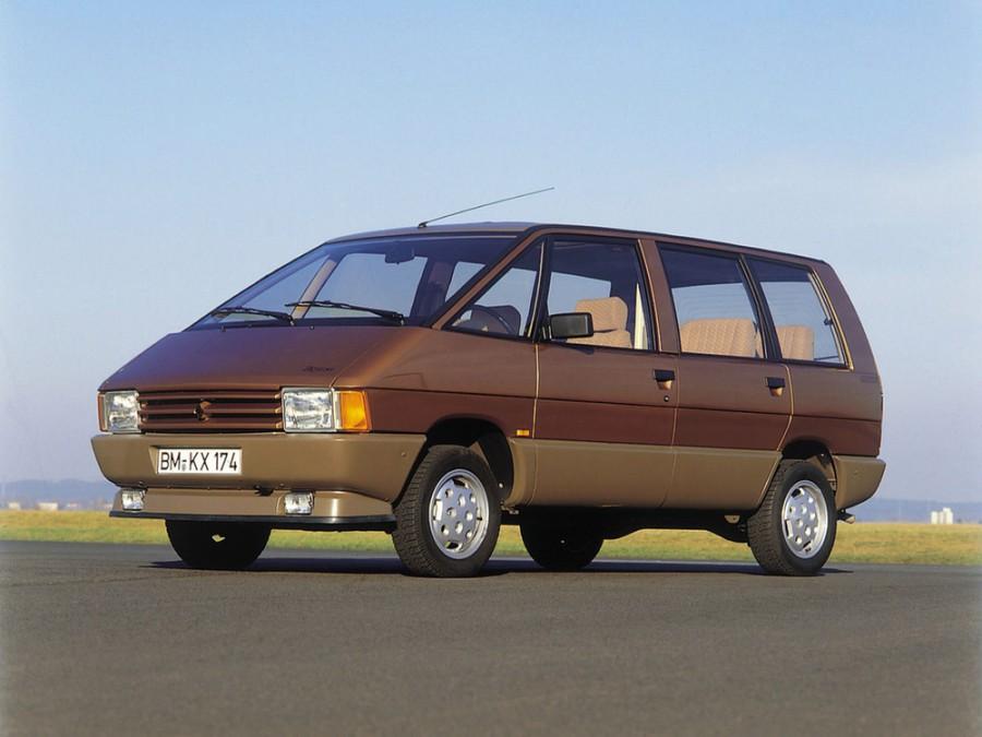 Renault Espace минивэн, 1984–1988, 1 поколение - отзывы, фото и характеристики на Car.ru