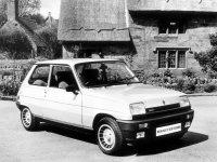 Renault 5, 1 поколение, Gordini turbo хетчбэк 3-дв., 1972–1985
