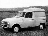 Renault 4, 1 поколение, Фургон