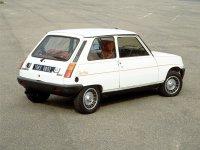 Renault 5, 1 поколение, Alpine turbo хетчбэк 3-дв., 1972–1985