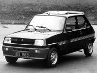 Renault 5, 1 поколение, Campus хетчбэк 3-дв., 1972–1985