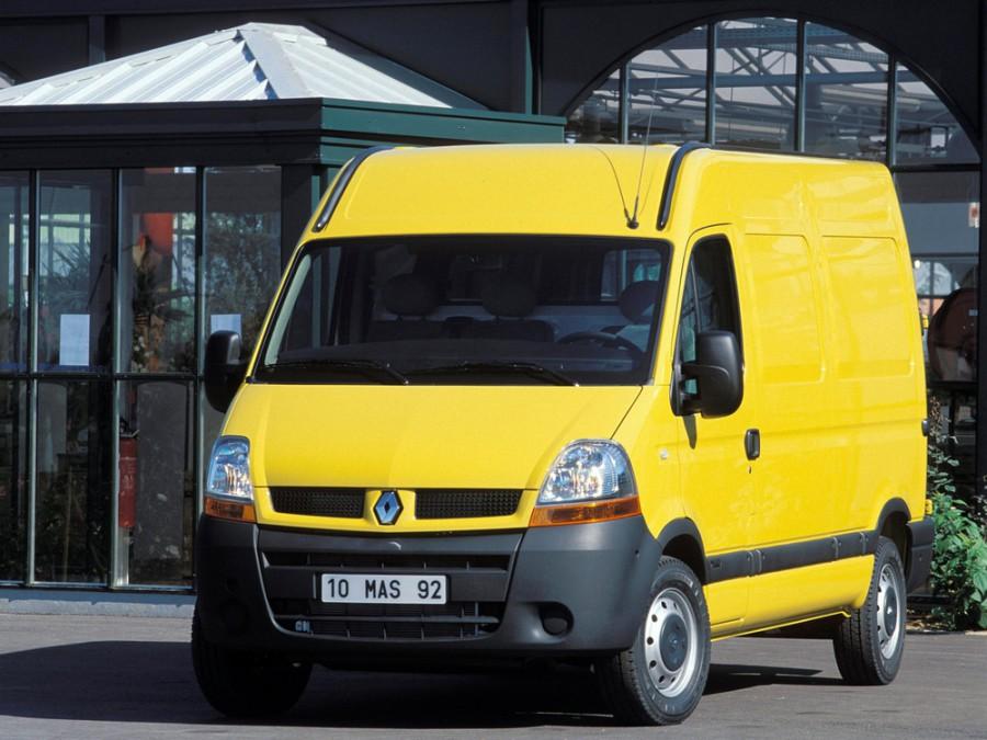 Renault Master фургон, 2003–2006, 2 поколение [рестайлинг] - отзывы, фото и характеристики на Car.ru