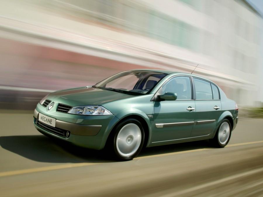 Renault Megane седан, 2002–2006, 2 поколение - отзывы, фото и характеристики на Car.ru