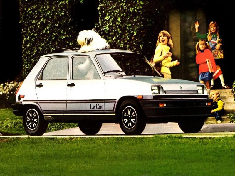 Renault Le Car хетчбэк 5-дв., 1980–1984, 1 поколение [рестайлинг] - отзывы, фото и характеристики на Car.ru