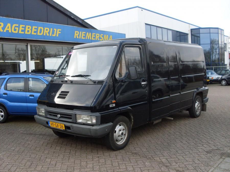 Renault Master фургон, 1994–1997, 1 поколение [рестайлинг] - отзывы, фото и характеристики на Car.ru