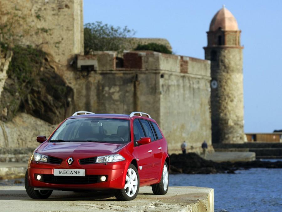 Renault Megane универсал, 2006–2016, 2 поколение [рестайлинг] - отзывы, фото и характеристики на Car.ru