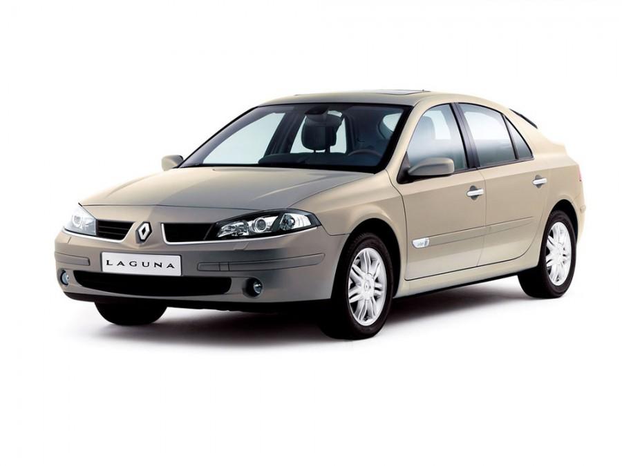 Renault Laguna хетчбэк, 2005–2007, 2 поколение [рестайлинг] - отзывы, фото и характеристики на Car.ru