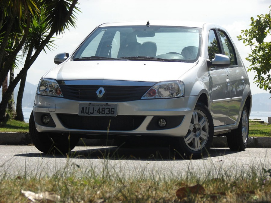Renault Logan седан, 2008–2015, 1 поколение [рестайлинг] - отзывы, фото и характеристики на Car.ru