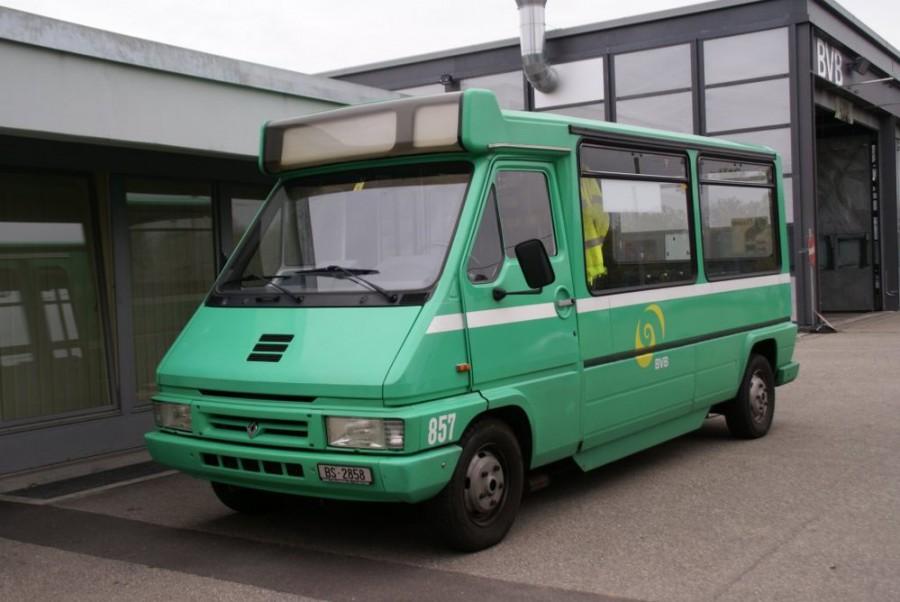 Renault Master микроавтобус, 1994–1997, 1 поколение [рестайлинг] - отзывы, фото и характеристики на Car.ru