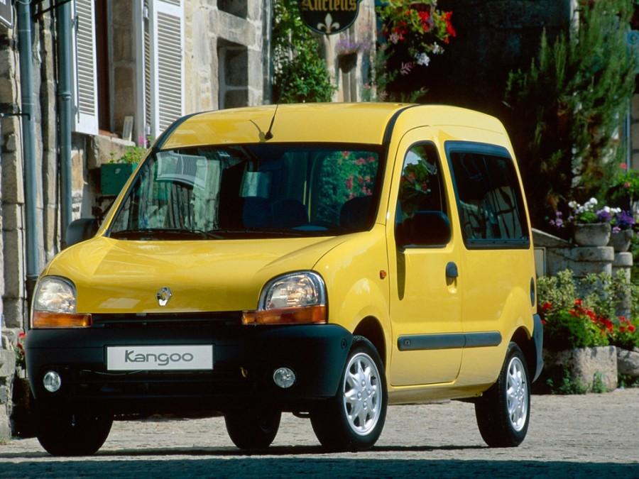 Renault Kangoo минивэн, 1998–2003, 1 поколение - отзывы, фото и характеристики на Car.ru