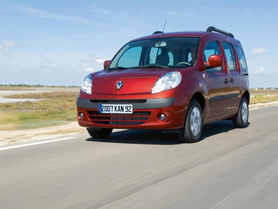 Renault Kangoo Passenger минивэн, 2007–2013, 2 поколение - отзывы, фото и характеристики на Car.ru